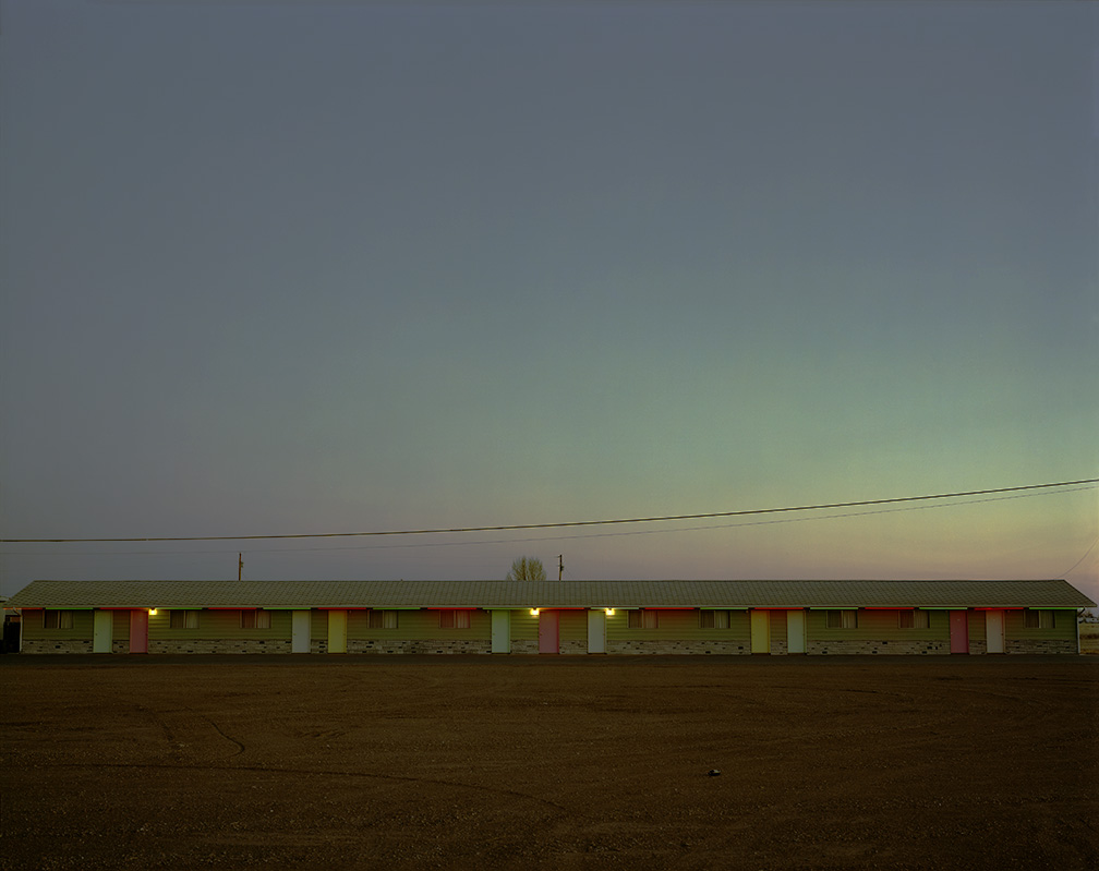 Siesta Motel, Highway 66, Moriarty, NewMexico; March 29, 1981